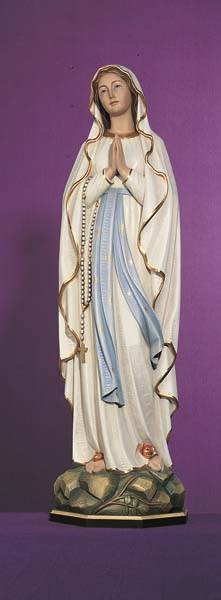 Our Lady of Lourdes and Bernadette Statue - DM753
