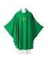 80 Plana Chasuble 80, 80 plana, chasuble, vestment, sorgente, manantial, robe, white, red, green, red, catholic chasuble, sorgento