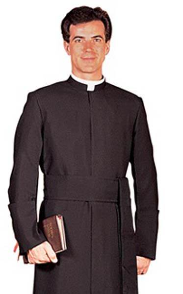 RJ Toomey Semi-Jesuit Summertime Cassock with Cincture