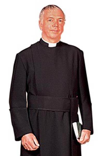 RJ Toomey Anglican Year Rounder Cassock with Cincture RJ Toomey Anglican Year Rounder Cassock with Cincture, 400,clergy shirt, clergy apparel, church goods, church apparel
