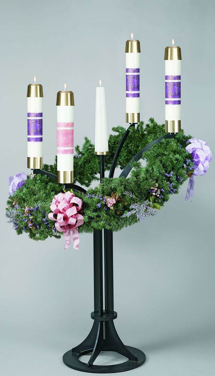 3925 Advent Wreath