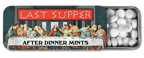 Last Supper Dinner Mints