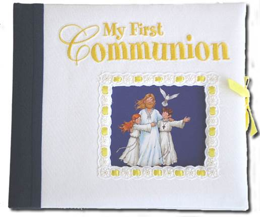 My First Communion Keepsake communion keepsake, communion book, memory book, sacramental memory book, 830/57,978-0-89-942837-6 , 9780899428376