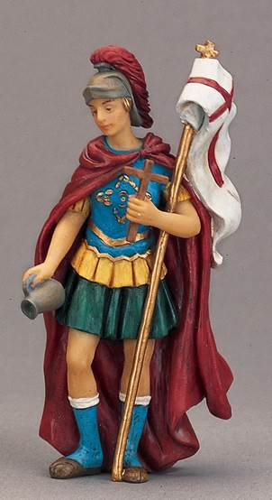 St. Florian Statue st florian statue, patron of firefighters, resin statue, home decor, fire house decor, 50294