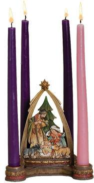 Joseph's Studio Nativity Advent Wreath