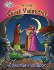 The Story Of St Valentine Coloring Book