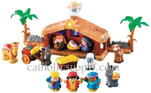 Fisher Price Little People Nativity Set