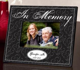 Personalized In Memory Frame Personalized In Memory Frame , memorial gift, loss of loved one gift, frame to remember a loved one, death of loved one gift, funeral home gift, funeral frame