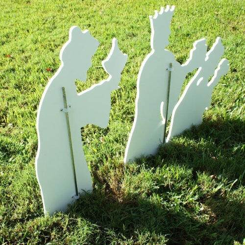 "28.75"" Marine Grade Outdoor Three Wisemen Set"