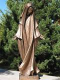 Bronze Assumption Statue
