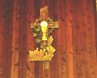 CUSTOM WOODCARVED WALL RELIEF  © Copyright Catholic Supply of St. Louis, Inc.  All Rights Reserved