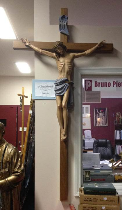 "60"" Wall Crucifix from Italy"