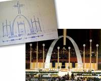 THE 1999 ST. LOUIS PAPAL ALTAR