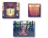 CUSTOM BAPTISMAL FONTS  We have made a number of unique baptismal fonts and wading pools for parishes. Please contact us and wed be glad to help you in your next project!  © Copyright Catholic Supply of St. Louis, Inc.  All Rights Reserved
