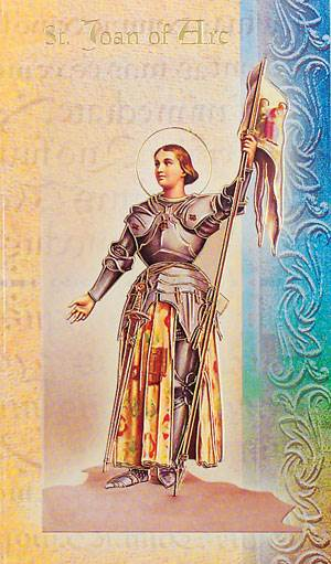 a biography of joan of arc a catholic saint Dear st joan of arc, you who led the armies of france to victory when called by god to save.