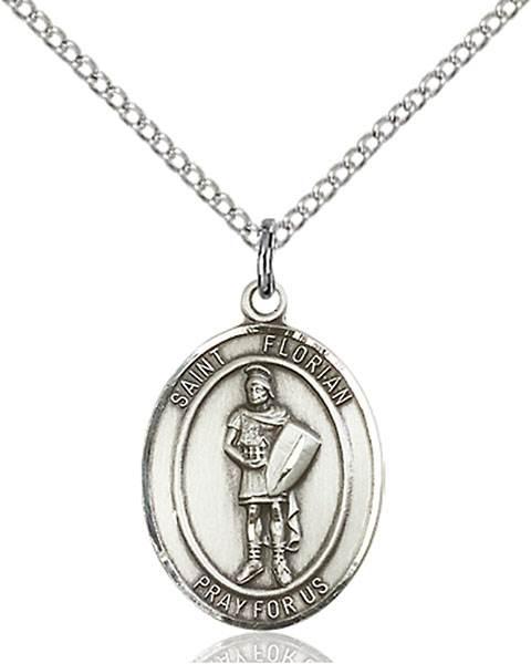 St Florian Necklace: St. Florian Patron Saint Necklace