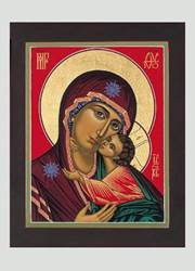 Madonna and Child Traditional Icon Style Boxed Christmas Cards christmas cards, boxed cards, holiday cards, stationary, seasonal cards, BNOMAC